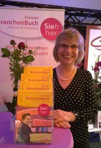 Sieh hier, das FrauenBranchenBuch auf der Wirtschaftsmesse Hannover