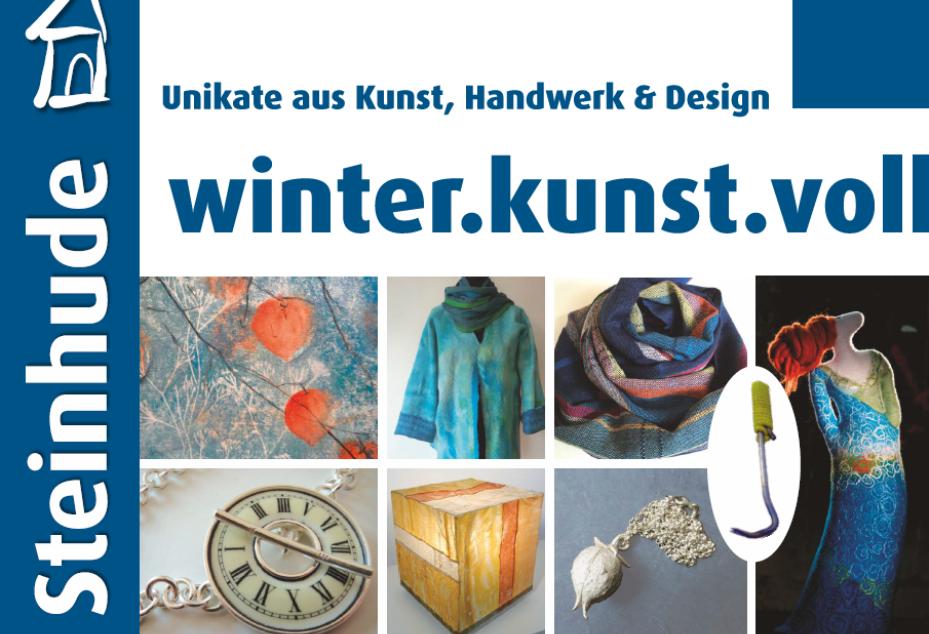 winter-kunst-voll Kunstscheune Steinhude